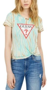GUESS Eco Tie-Dye Logo T-Shirt