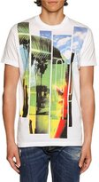 DSQUARED2 American Road Trip Graphic T-Shirt, White