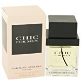 Carolina Herrera Chic by Men's Eau De Toilette Spray 2 oz - 100% Authentic