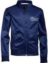 Original Penguin Junior Boys Boys Zip Front Tricot Jacket Blue Depths