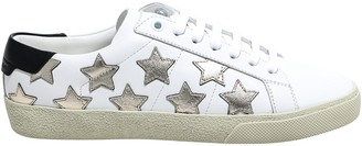 Saint Laurent Star Detail Low Top Sneakers