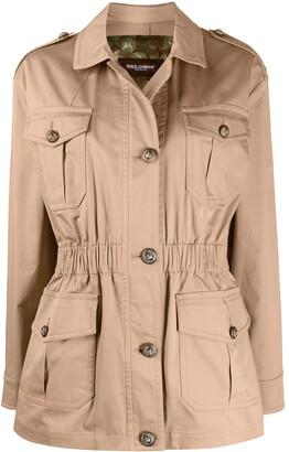 Dolce & Gabbana Pocket-Detail Button-Up Jacket