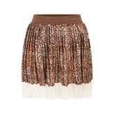 GUESS GuessGirls Brown Sequin Skirt
