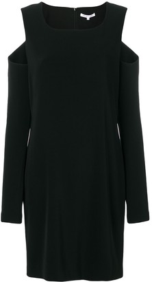 Helmut Lang cut out dress