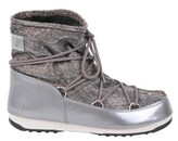 Moon Boot Women's Grey Polyester Ankle Boots.