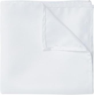 yd. White Pocket Square