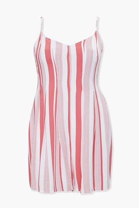 Forever 21 Plus Size Striped Romper