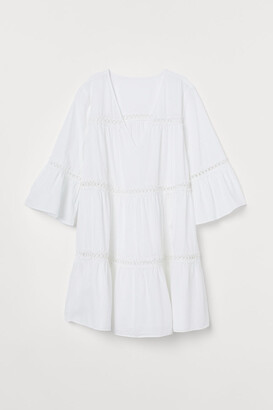 H&M Cotton Beach Dress - White