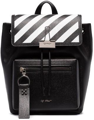 Off-White diagonal-stripe backpack