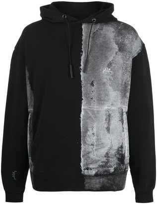 A-Cold-Wall* Painted Panel Hoodie