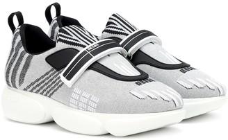 Prada Cloudbust metallic sneakers