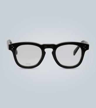 Celine Round acetate glasses