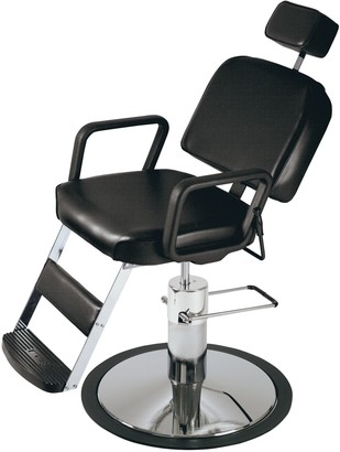 Pibbs Prince Hydraulic Barber Chair Model 4391 Black