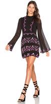 Rococo Sand 1970s Folk Dress