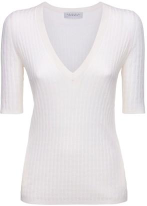 Gabriela Hearst Cashmere & Silk Knit Top
