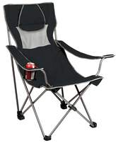 Picnic Time Campsite Chair - Black