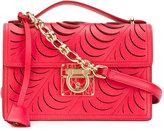 Salvatore Ferragamo laser cut Gancio Lock bag - women - Leather - One Size