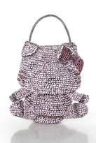 Anteprima Pink Woven Wire Ribbon Jewel Studded Hello Kitty Satchel Handbag
