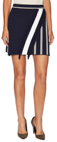 Tanya Taylor Andy Striped Mini Skirt