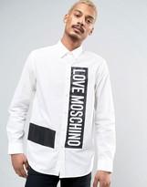 Love Moschino Printed Logo Shirt