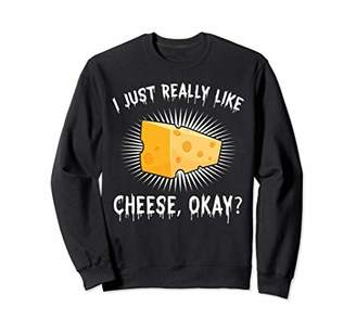IDEA Funny Cheese Lover Cheese Nerd Gift Design Sweatshirt