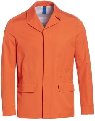 Saks Fifth Avenue COLLECTION Notch Collar Raincoat