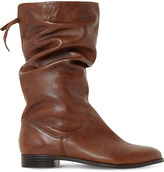 Dune Rosalind slouchy leather boots