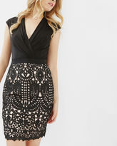 Ted Baker Lace wrap dress