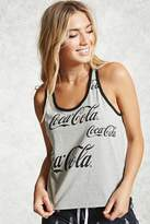 Forever 21 FOREVER 21+ Coca Cola PJ Tank Top