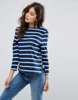 YMC Breton Stripe Long Sleeved Tee