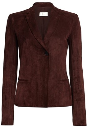 The Row Emi Suede Blazer
