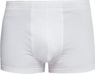 Hanro Superior Stretch-cotton Trunks - Mens - White