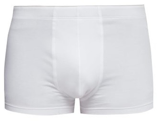 Hanro Superior Stretch-cotton Trunks - White