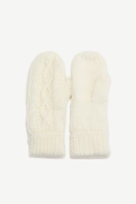 Ardene Insulated Cable-Knit Mittens