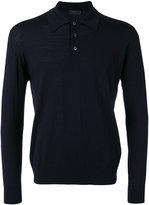 Prada plain polo shirt - men - Virgin Wool - 46