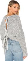 Style Stalker STYLESTALKER Hart Crop Sweater