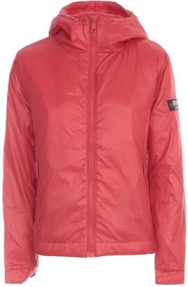 Love Moschino Short Padded Jacket W/logo On Sleeve