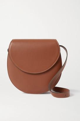 Hunting Season The Saddle Large Leather Shoulder Bag - Brown