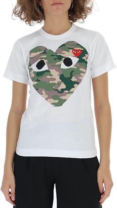 Comme des Garcons Camo Heart T-Shirt