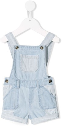 Chloé Kids Denim Dungarees