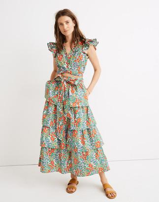 Madewell Banjanan Florence Tiered Skirt