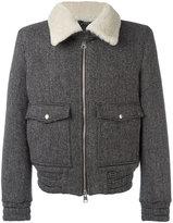 Ami Alexandre Mattiussi zipped jacket - men - Other fibres/Virgin Wool/Polyimide - XS