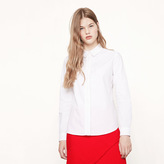 Maje Cotton shirt with pleated braid