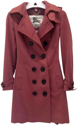 Burberry Pink Cashmere Coats