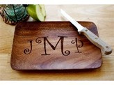 The Well Appointed House Monogrammed Wood Tray