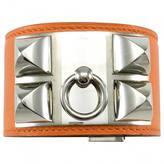 Hermes Collier de chien leather bracelet