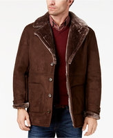 Tasso Elba Men's Faux-Leather Coat, Created for Macy's