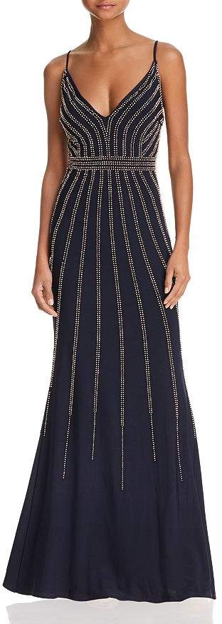 Avery G Beaded Gown