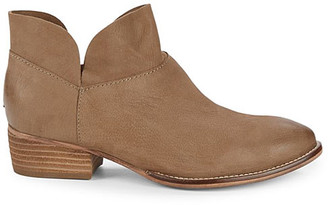 Seychelles Women's Casual boots TAUPE - Taupe Bait Leather Ankle Boot - Women