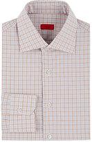 Isaia Men's Checked Dress Shirt